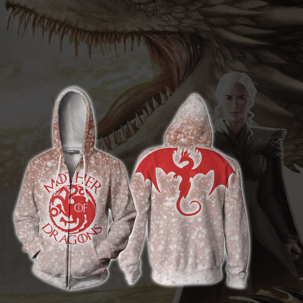 Game of Thrones Mother of the dragon Printed Hoodie