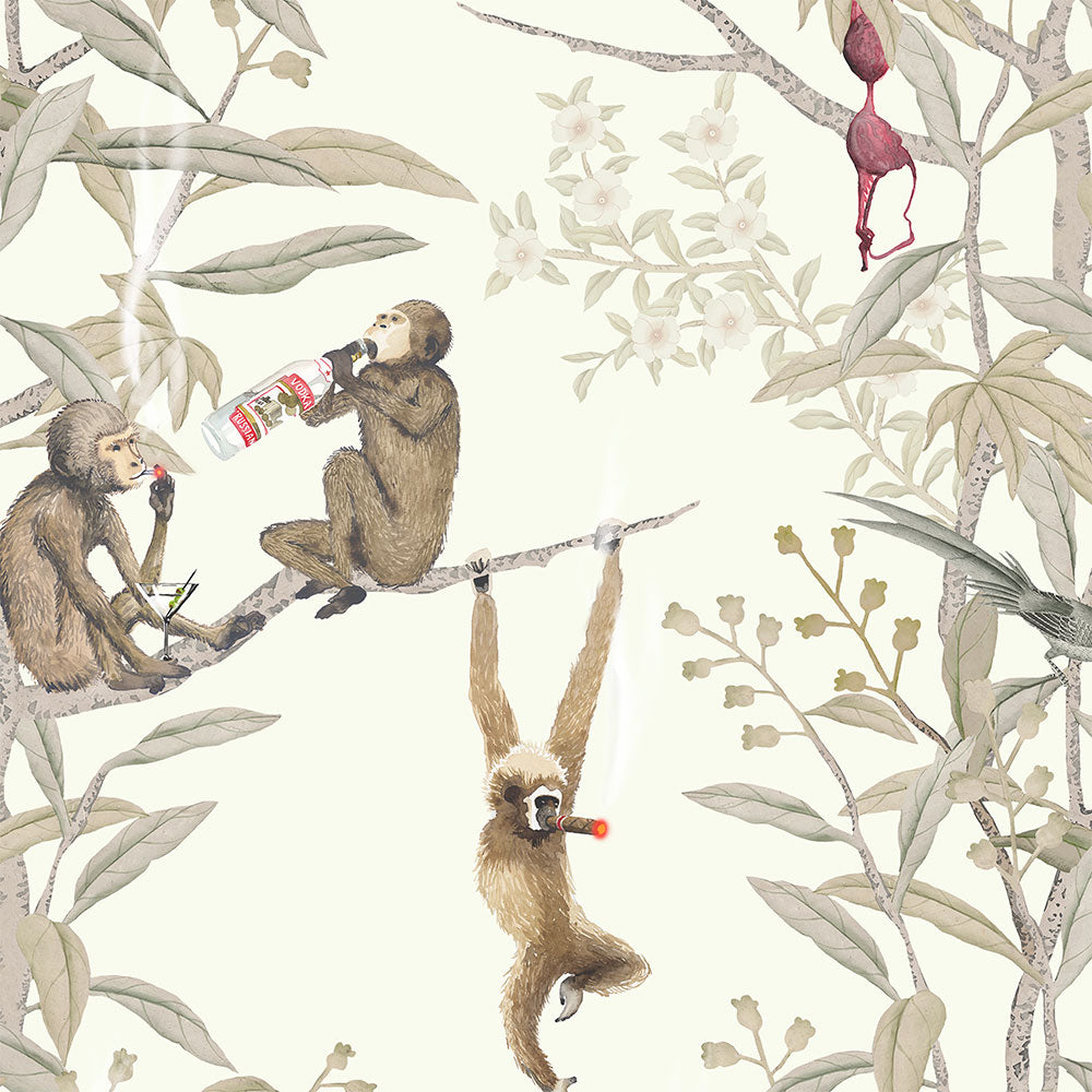 Drunk Monkeys - Bashed Wallpaper