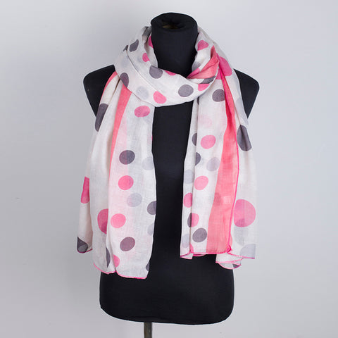 Women Point Printing Scarf
