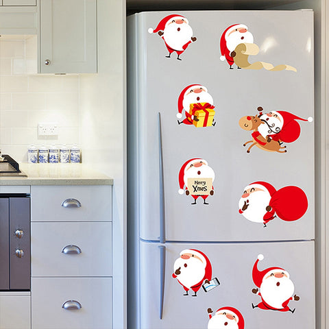 9Pcs/Set Christmas Santa Claus