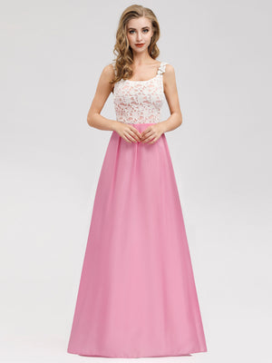 Ever-Pretty Elegant Sleeveless Lace Long Evening Dresses EN07807