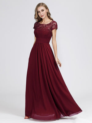 Ever-Pretty Maxi Long Evening Dresses with Lace EB23999