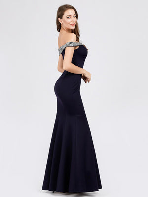 Ever-Pretty Women's Off Shoulder Bodycon Mermaid Dress Maxi Evening Dress EP07941