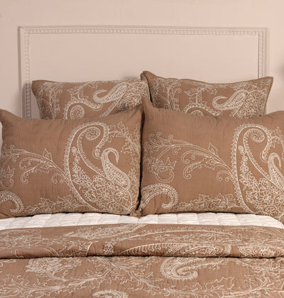 PALE BLUSH KING BED SET - DaOneHomes