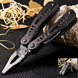 Ganzo G103 Multifunctional Folding Pliers Outdoor Survival Knife Stainless Steel Camping Tool Climbing Equipment EDC Pocket Tool