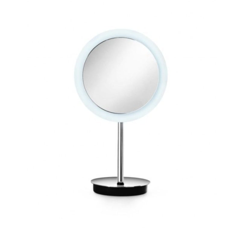 Lineabeta LED Tabletop Mirror, 3x Magnification, Round, Ø 230mm - The Magnifying Mirror Store