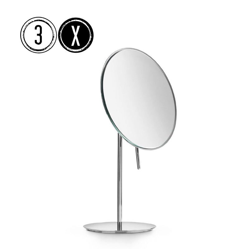 Lineabeta Tabletop Mirror, 3x Magnification, Round, Ø 186mm
