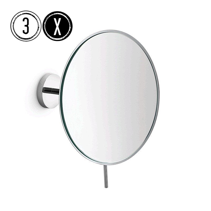 Lineabeta Wall Mirror, 3x Magnification, Round, Ø 186mm