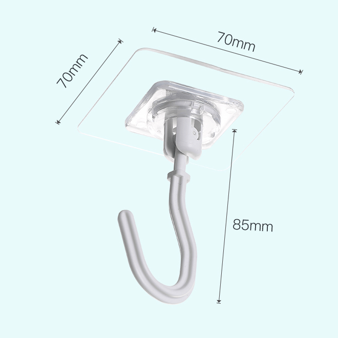 360 Rotation Suction Hook
