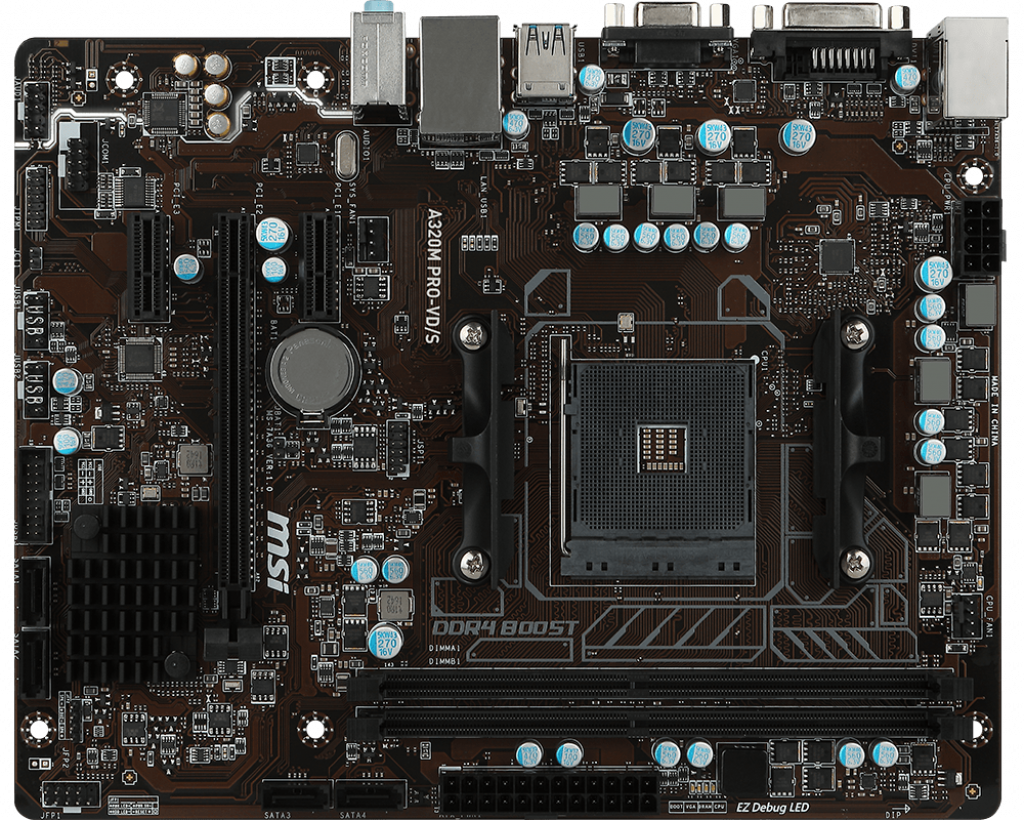 Motherboard AM4 MSI A320M Pro-VD/S V2 DDR4