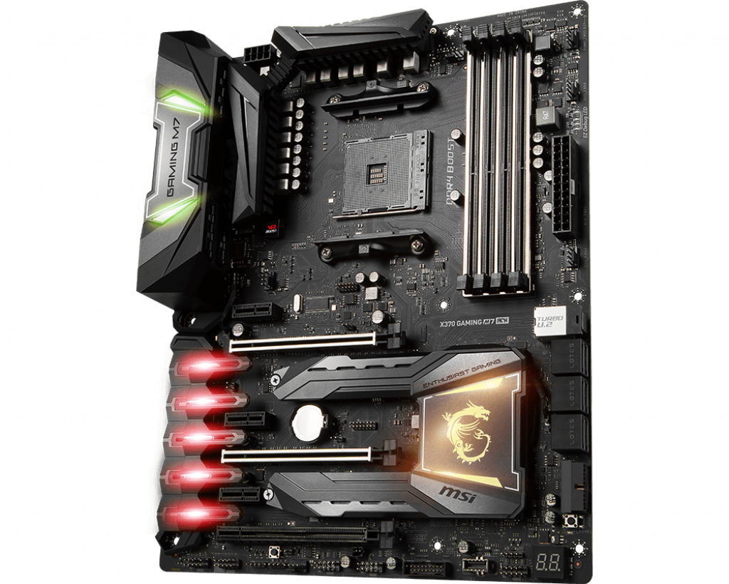 Motherboard AM4 MSI X370 Gaming M7 ACK DDR4