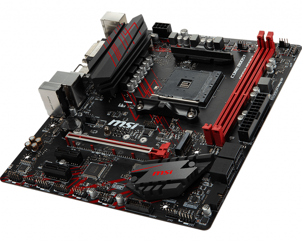 Motherboard AM4 MSI B450M Gaming Plus DDR4