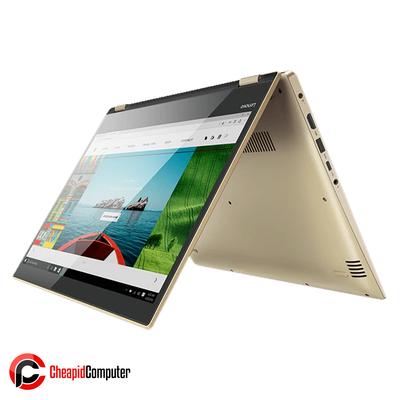 Laptop Lenovo Yoga 520-14IKB Gold Metalic Core i7-8550U 4GB DDR4 1TB HDD 14 Inch Win10 (81C800NRPH)