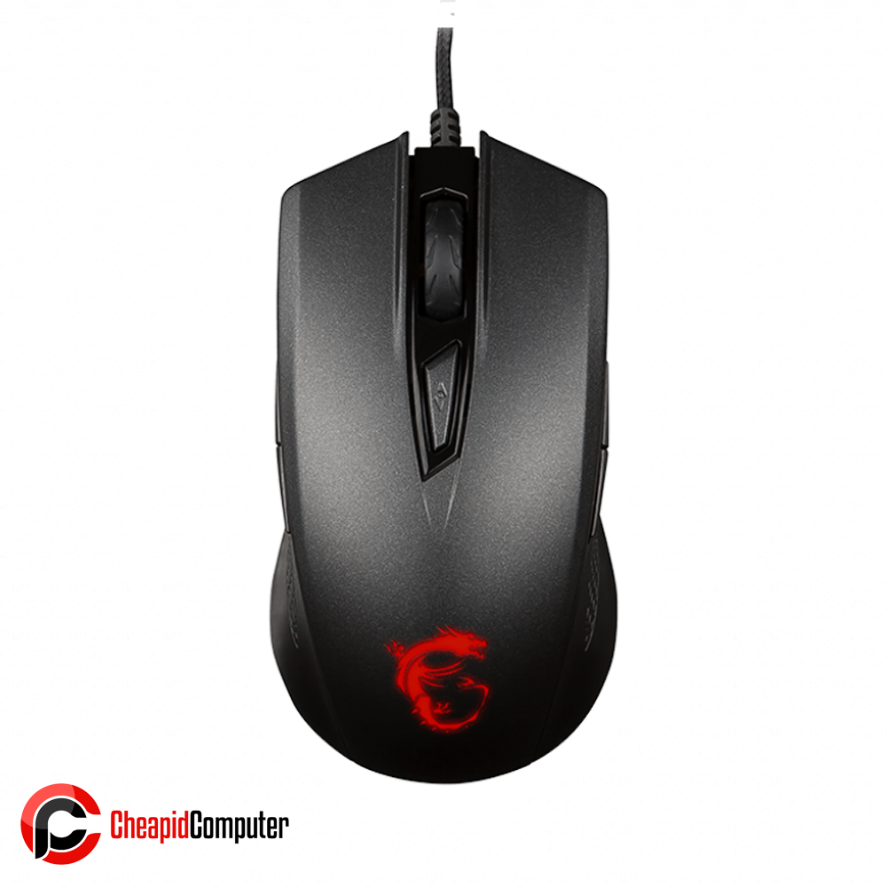 Mouse USB MSI Clutch GM40 Red LED Optical Gaming