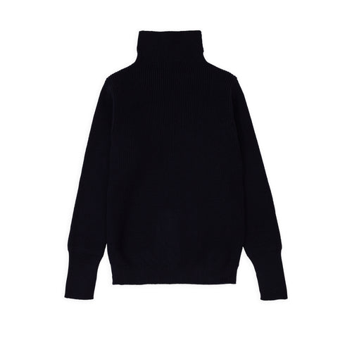 Sailor Turtleneck - Navy Blue
