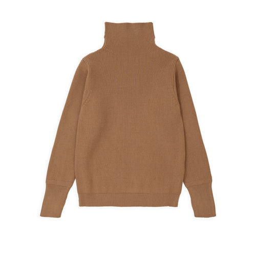 Sailor Turtleneck - Camel