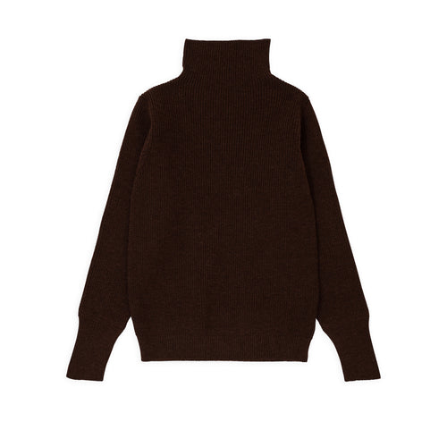 Sailor Turtleneck - Natural Brown