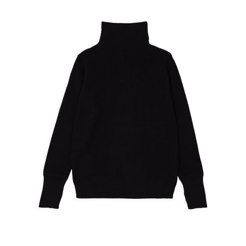 Sailor Turtleneck - Black