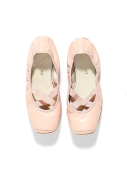 Belle Chiara Leather Grace Puntas Ballet Flats
