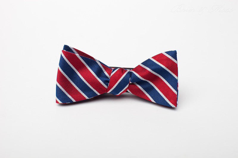 The Beeson Brier & Moss Bow Tie