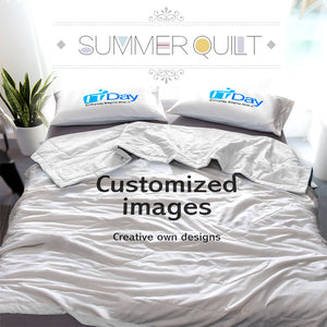Customized Printing Summer Quilt Blanket