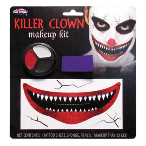 Big Mouth Killer Clown Make Up Kit
