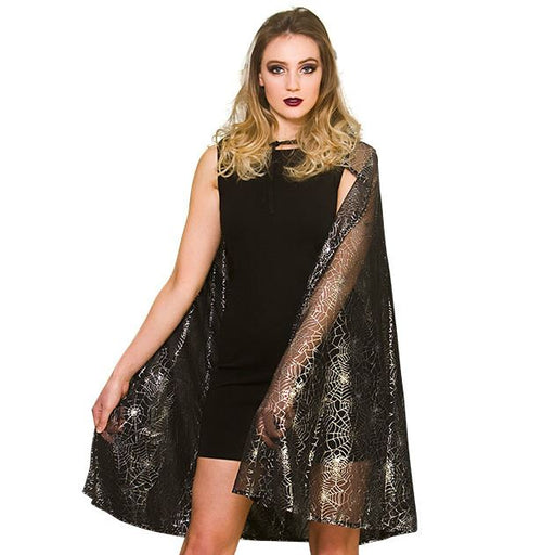 Shimmering Spiderweb Cape