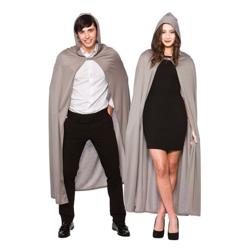 Hooded Cape (Grey)