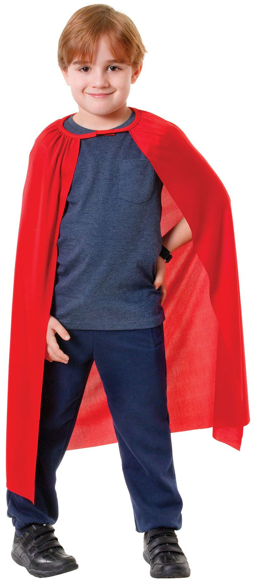 Kids Superhero Cape (Red)