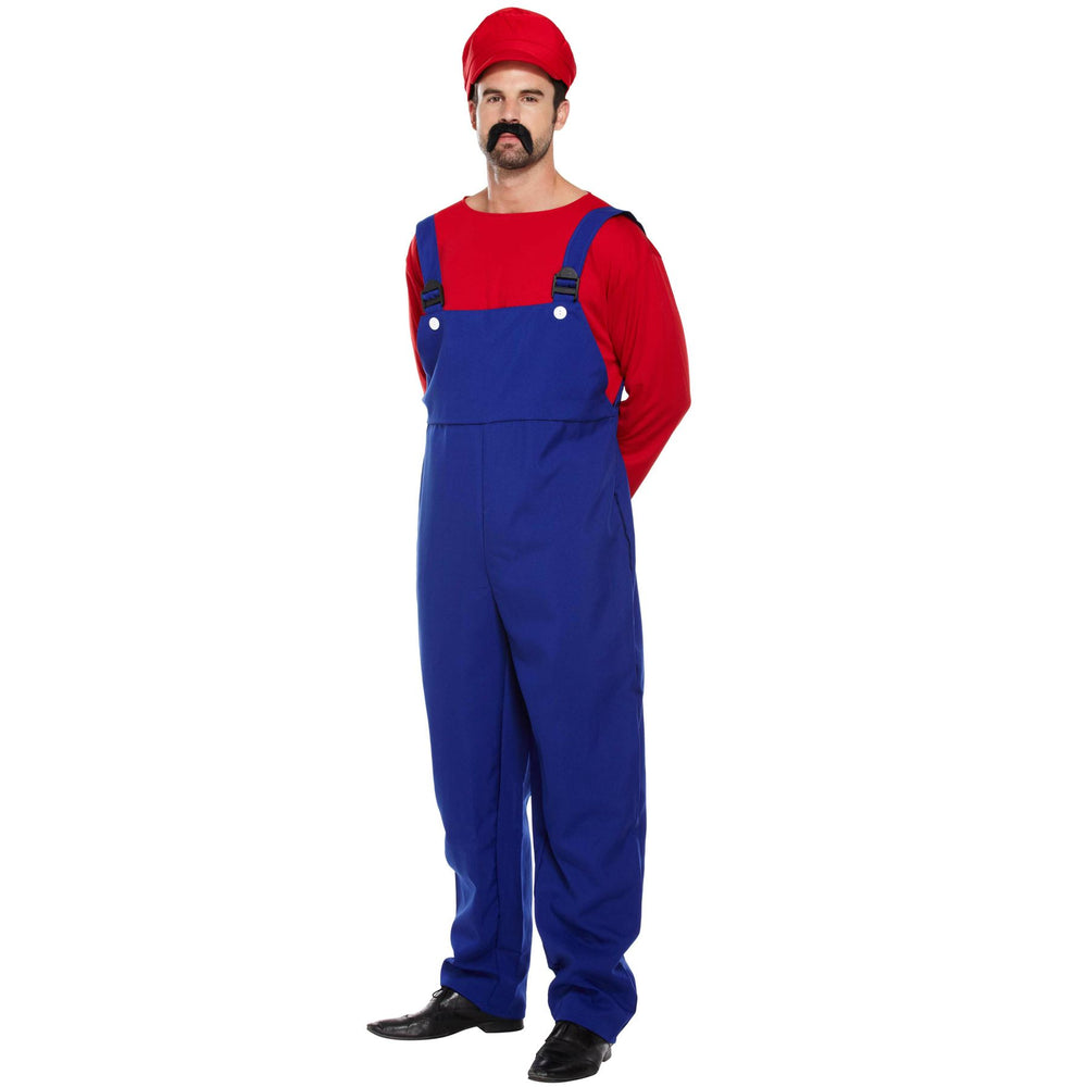 Super Work Man Costume (Red)