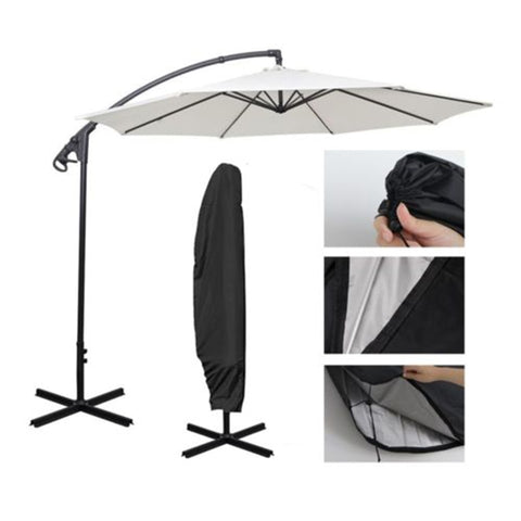 1 * Umbrella Cover Large Offset Cantilever Parasol Umbrella Waterproof Cover Garden Patio Case - BuyShipSave