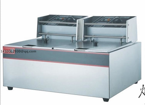 CE approved fish and chips fryers/electric fryer/electric deep fryer Restaurant Equipment Commercial Electric Fryer
