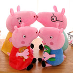 4pcs/set Peppa Pig George family Plush Toys For Children Hobbies Dolls & Stuffed Plush Toys Gifts - BuyShipSave
