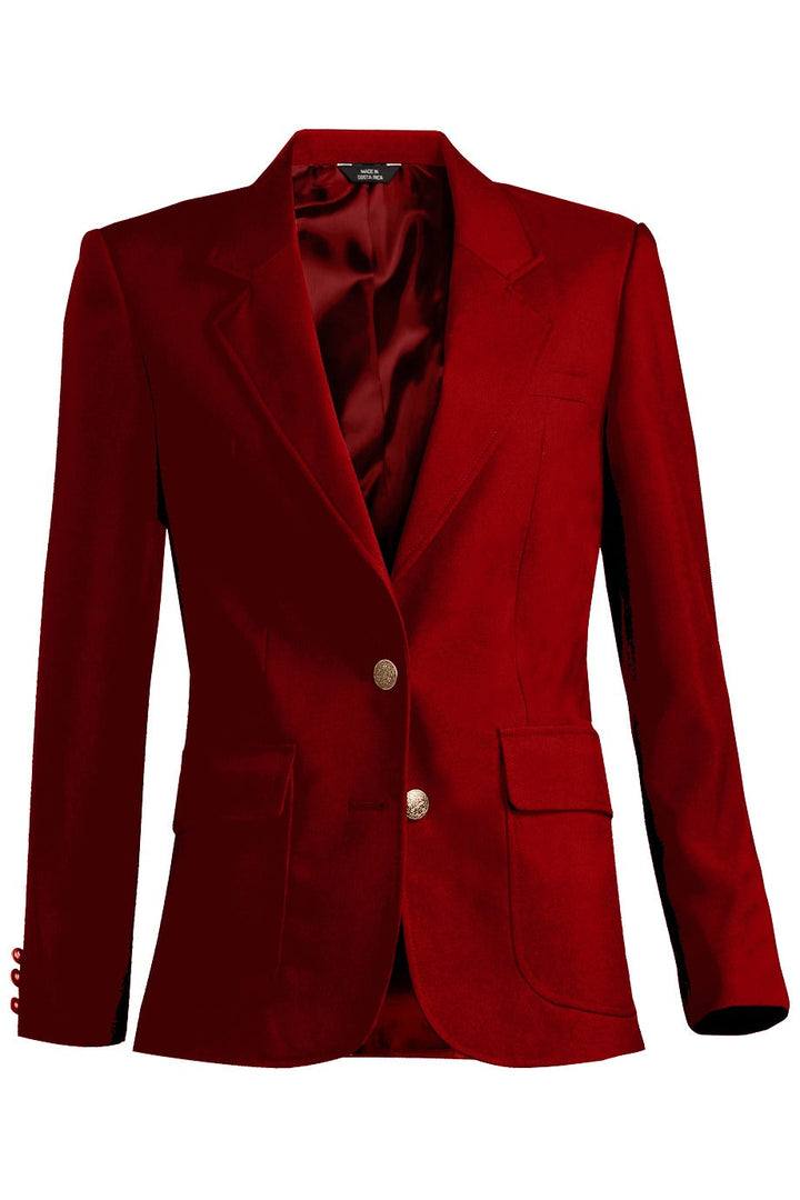 Women's Red Value Blazer