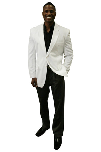 Men's White Blazer