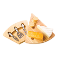 True Fabrications Cheese Board and Knife Set