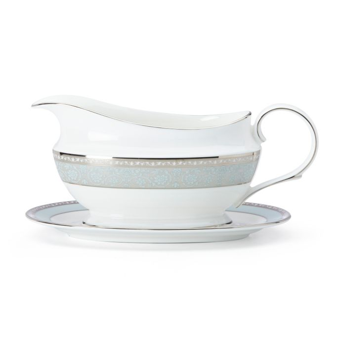 Lenox Westmore Sauce Boat with Stand