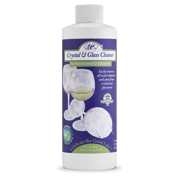Crystal and Glass Cleaner - 12 oz.