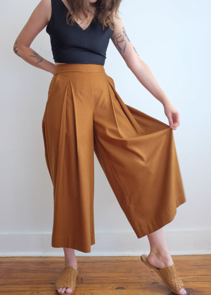 Atley Culottes in Ocre