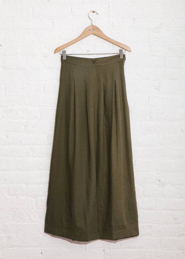 Safari Skirt in Olive