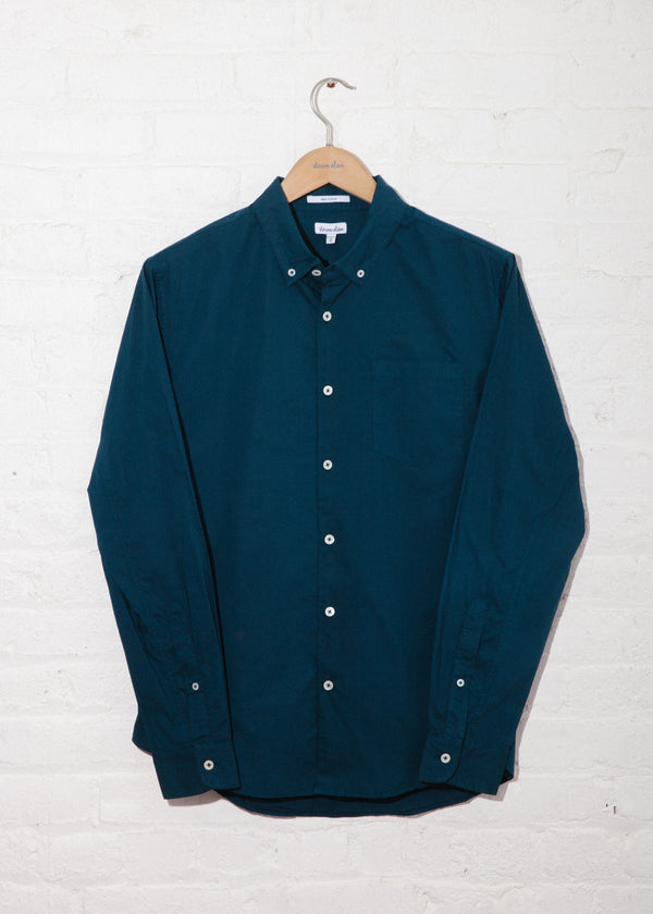 Single Needle Shirt in Sailor Blue