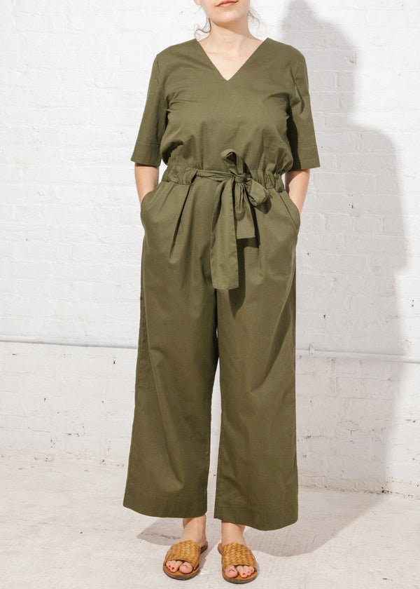 Archive Jumpsuit in Moss