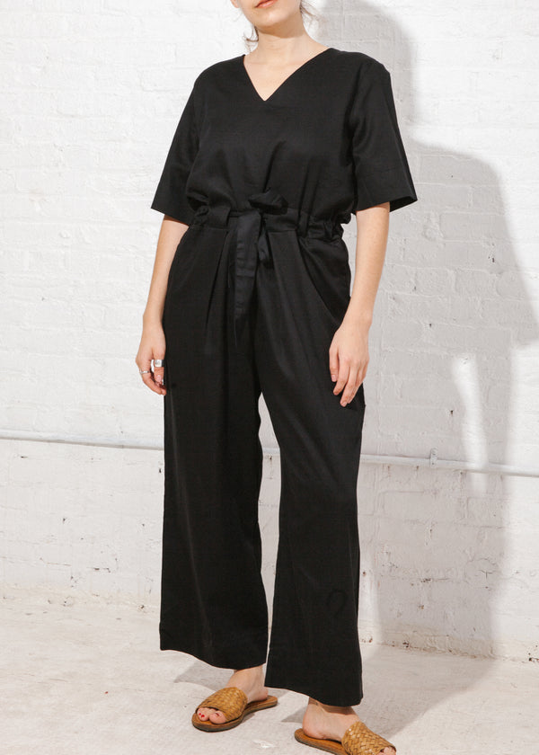 Archive Jumpsuit in Black