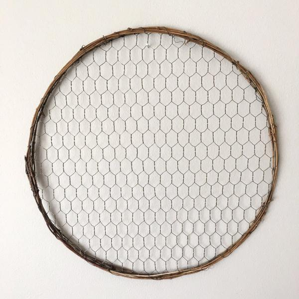 "14"" Chicken Wire Wreath- bulk pack"
