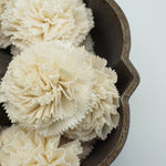 Carnation Flower - set of 12- multiple sizes available -