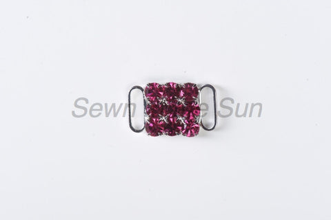 #587 Fuchsia in Silver