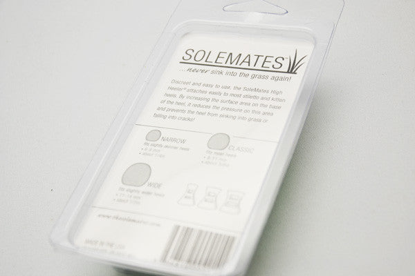 Solemates- never sink into the grass again!