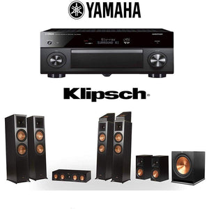 Klipsch RP-8060FA 7.1.4 Dolby Atmos Home Theater System with Yamaha AVENTAGE RX-A3080 9.2-Channel 4K Home Theater AV Receiver - Stereo Advantage