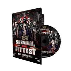 ROH - Survival Of The Fittest 2017 - Night 2 Event DVD