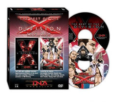TNA - Best Of The X-Division Vol 1 & 2 Twin Pack DVD (Disc Loose in Cases)